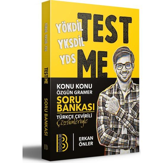 Benim Hocam Yayınları YÖKDİL YKSDİL YDS Test Me Konu Konu Özgün Gramer Soru Bankası - Erkan Önler