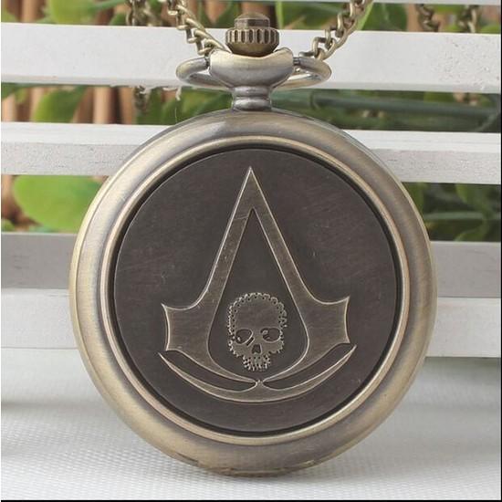 Aksh Assassin's Creed Cep Saati Kolye Yeni Tarz Yeni Moda