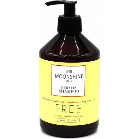 Moonshine Keratin Saç Şampuanı 500 ml