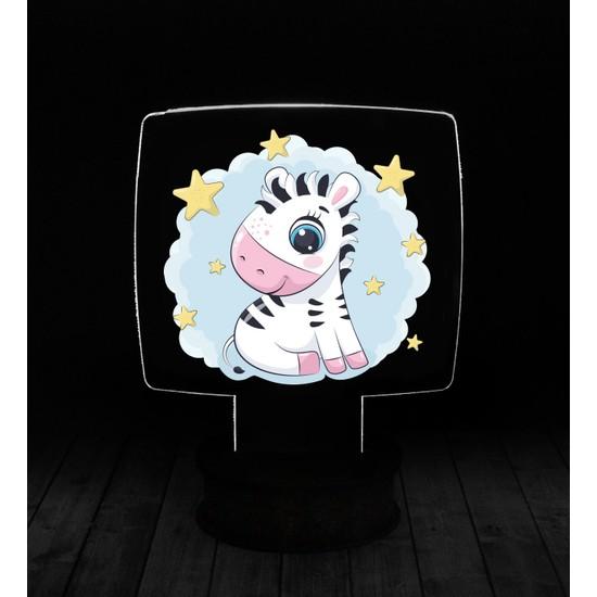 eJOYA Modern Desenli 3 Boyutlu 3D Led Gece Lambası 90240
