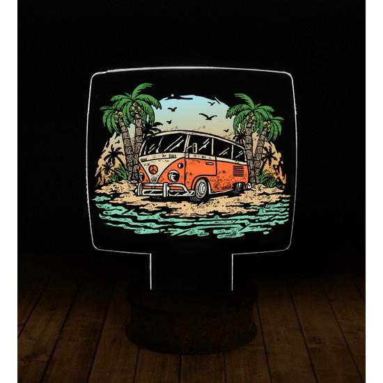 eJOYA Modern Desenli 3 Boyutlu 3D Led Gece Lambası 90225