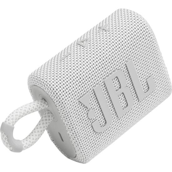 JBL Go 3 Taşınabilir Bluetooth Hoparlör - Beyaz
