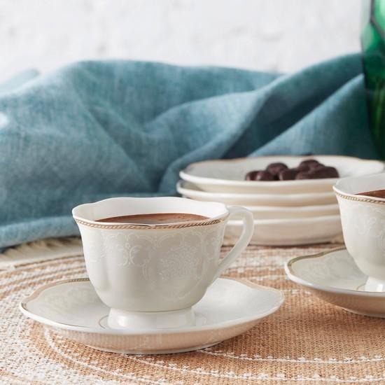 Karaca Margaret 6 Kişilik Kahve Fincan Takımı
