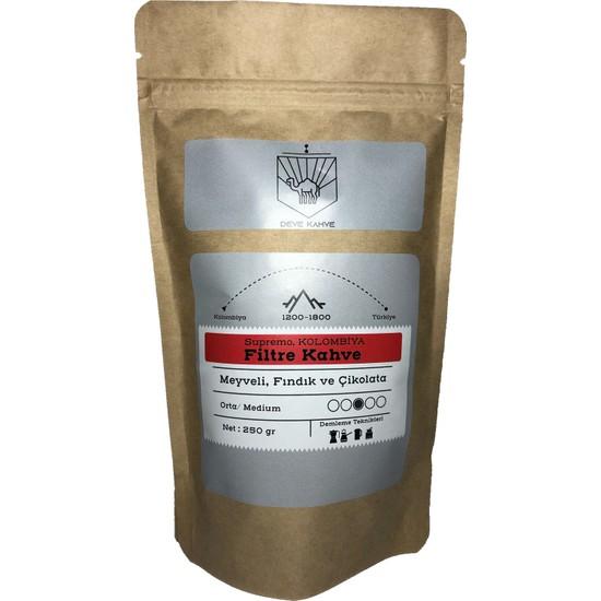 Deve Kahve Kolombiya Filtre Kahve 250 gr