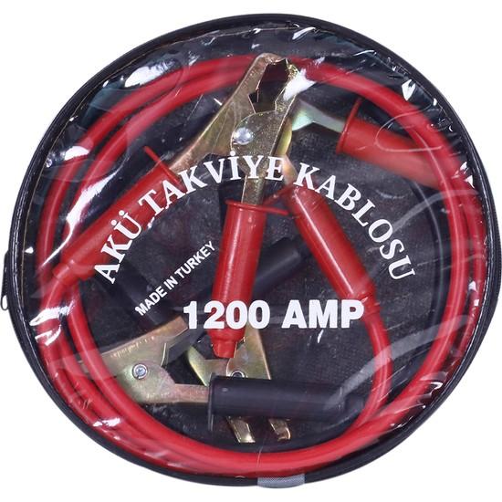 Çınartech Çantalı Akü Takviye Kablosu 1200 Amper 2 Metre