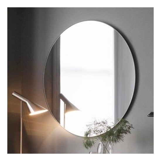Chic Life Altair Dekoratif Oval - Yuvarlak Ayna 60 cm x 60 cm