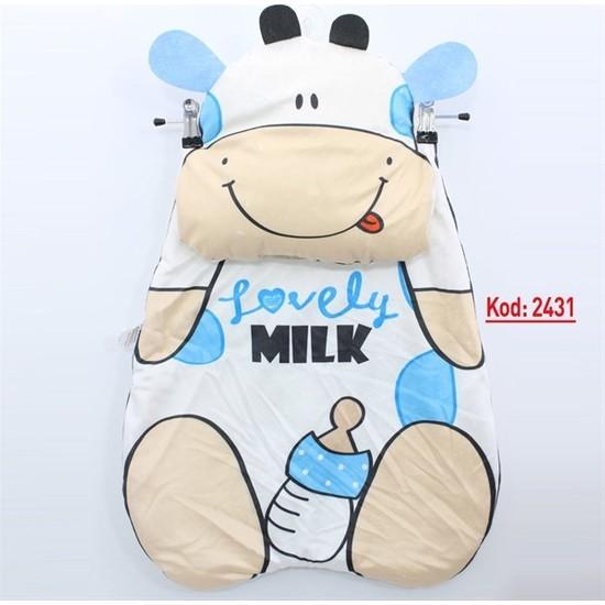 Kids Buude Inek Figürlü Bebek Alt Açma K2431