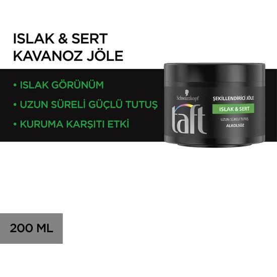 Taft Mega Jöle (Islak Sert) 200 ml