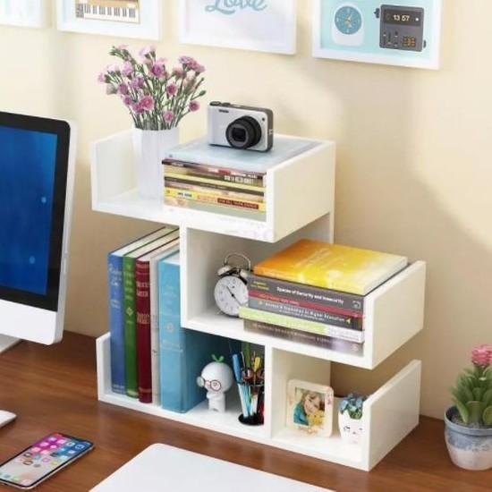 Bayz Masaüstü Kitaplık Mini Raf