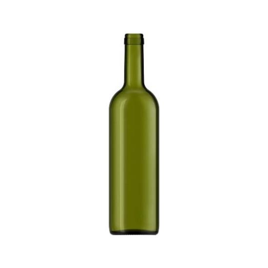 Şişecam 10 Adet 750 ml Cam Şarap Yağ Şişesi Zeytin Yeşili 599475