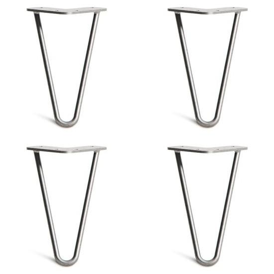 Abronya Firkete Ayak Orta Sehpa Zigon Komodin Kütük Metal Masa Ayağı 70 cm 1 Adet