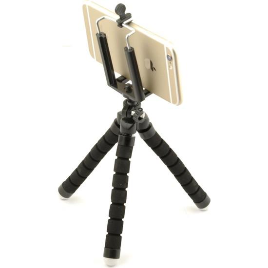 Tme iPhone Huawei Samsung Xiaomi Sony Mini Ahtapot Tripod Gorillapod