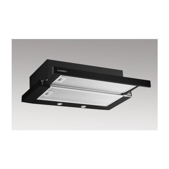 Luxell DS6-905 Siyah Sürgülü Aspiratör