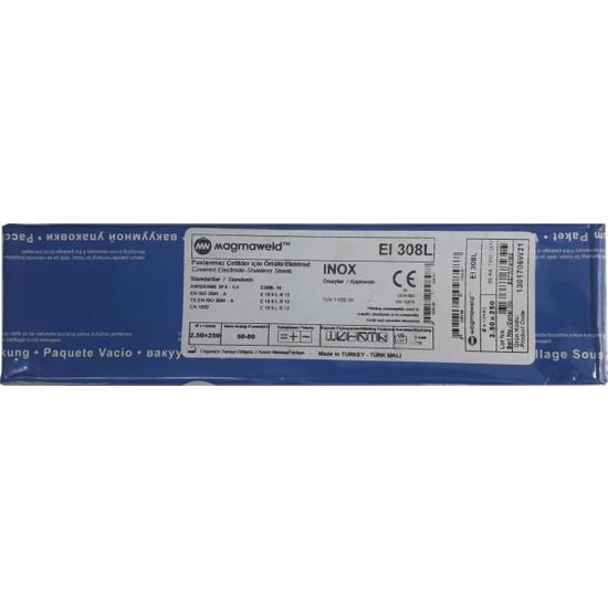 Magmaweld Eı 308L 2,5X250 Krom Elektrot