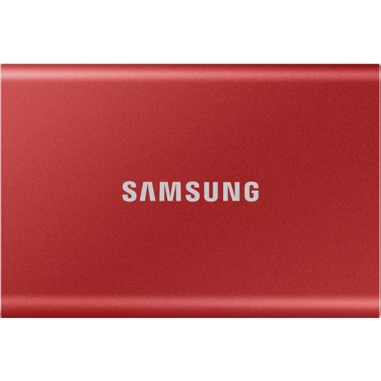 Samsung T7 2TB Taşınabilir SSD Kırmızı MU-PC2T0R/WW