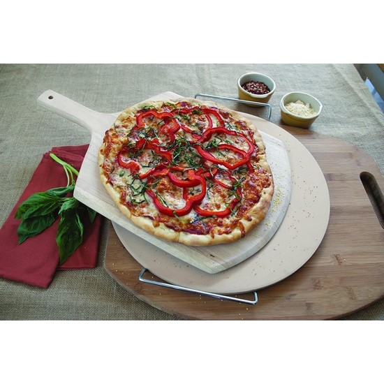 Globy Ahşap Saplı Ekmek, Pizza Küreği 30 x 30 cm