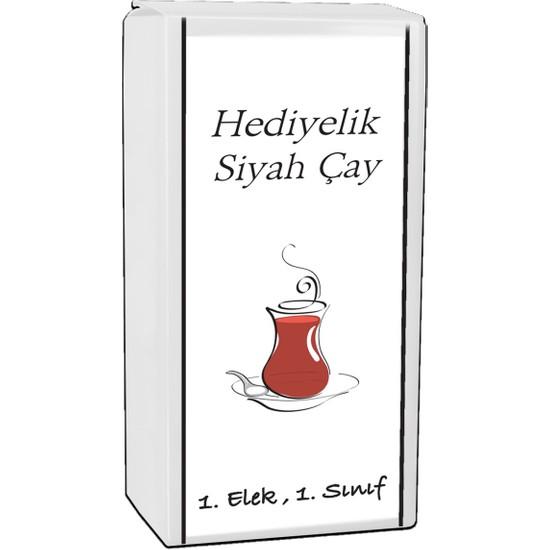 Demçay Hediyelik Beyaz Paket Siyah Çay 500 gr