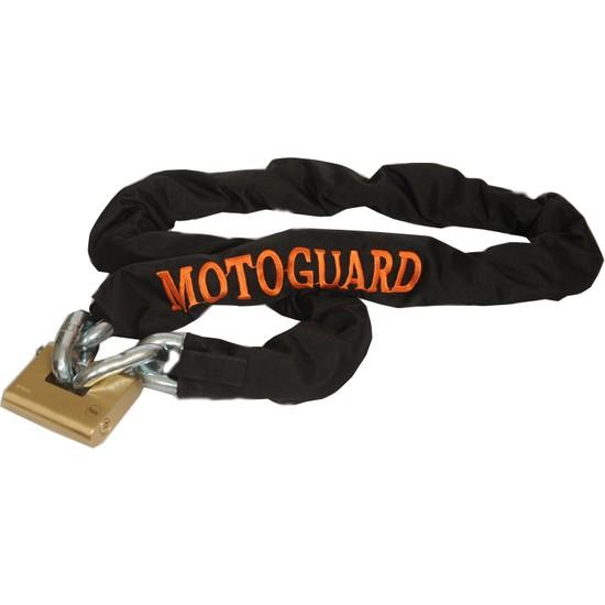 Motoguard MP1501 14 mm Kesilmeyen Güvenlik Zinciri 1,5 mt + Kilit