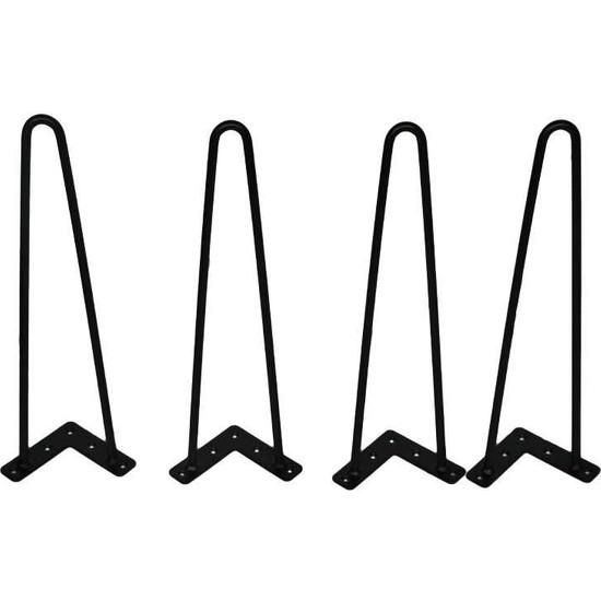 Abronya Firkete Ayak Komodin Dresuar Kütük Orta Sehpa Zigon Masa Ayağı 45 cm 1 Adet