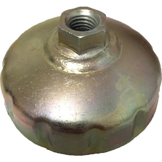 Feder Metal Renault Yağ Filtre Sökme Anahtarı 76 mm12 Köşe
