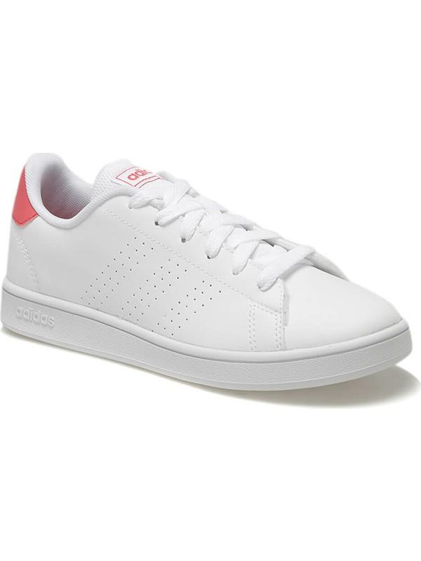 adidas Beyaz Genç Tenis Ayakkabısı Ef0211 Advantage K