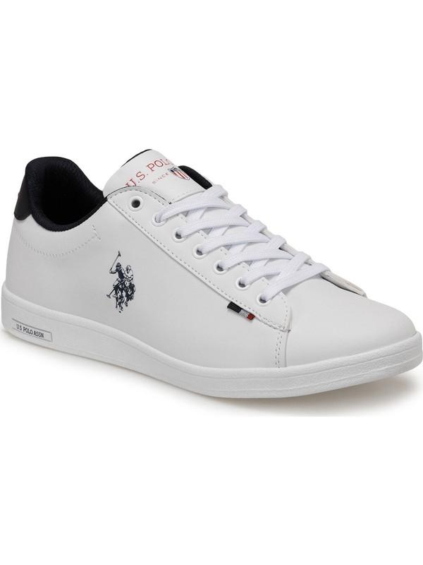 U.s. Polo Assn. Franco Dhm Günlük Erkek Spor Ayakkabı Beyaz