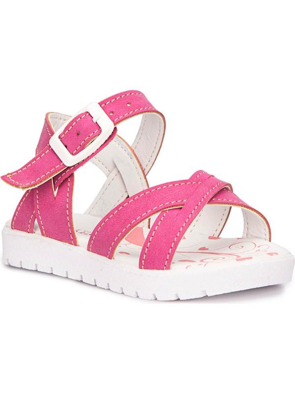 Polaris 71.508159.B Fuşya Kız Çocuk Sandalet