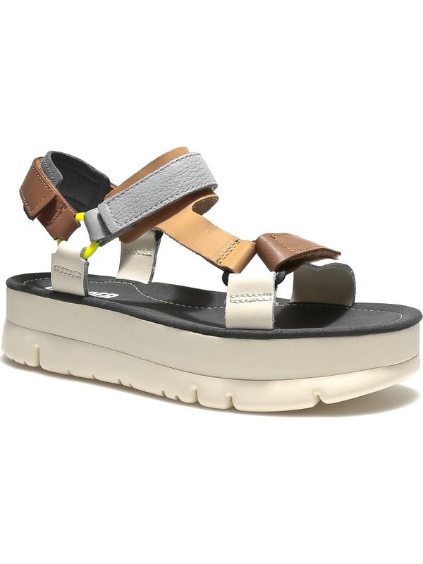 Camper Kadın Sandalet K201037-004 Oruga Up Taba