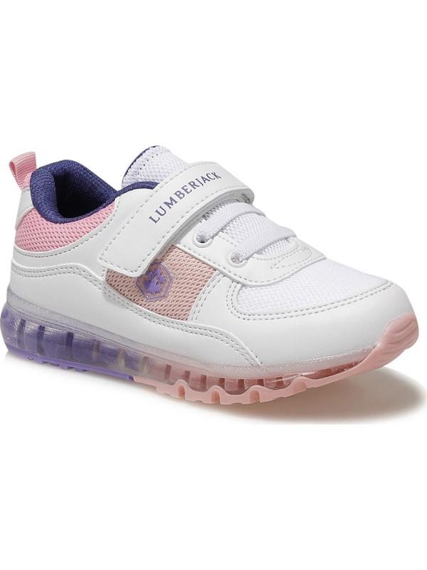 Lumberjack CAP MESH 1FX Beyaz Kız Çocuk Yürüyüş Ayakkabısı