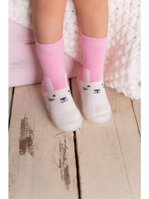 Nou Nou Tavşanlı Kaydırmaz Taban Çorap Panduf