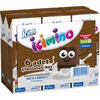 İçim İçimino Çikolatalı Süt 6x180 ml