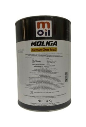 Moil Moliga Kırmızı Gres 900 gr