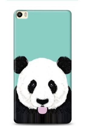 Onadair Huawei P8 Max Dil Cikaran Panda Desenli Kılıf