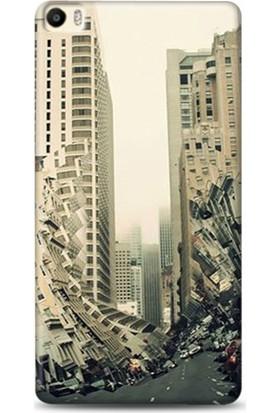 Onadair Huawei P8 Max Earthquake Desenli Kılıf