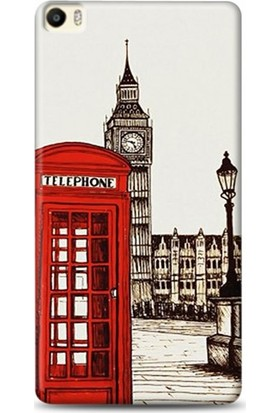 Onadair Huawei P8 Max London Telefon Desenli Kılıf