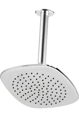Premium Duş Başlığı - Tavandan Ayarlı 20X20 cm