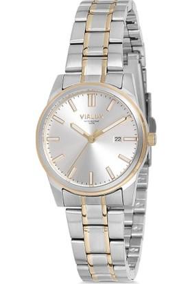 Vialux AJ533T-02SG Kadın Kol Saati