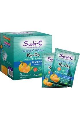 Suda Collagen Suda-C K2+D3 20 Saşe