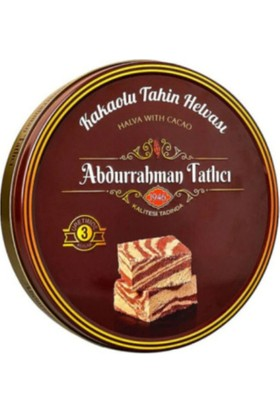 Abdurrahman Tatlıcı Kakaolu Tahinli Helva 850 gr Teneke Ambalaj