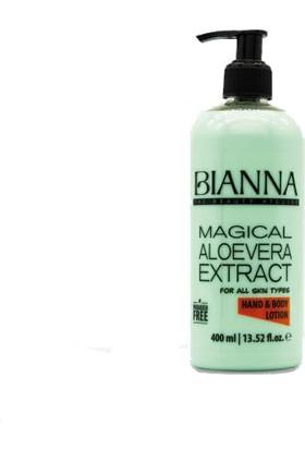 Bianna El ve Vucut Losyonu Aloevera 400 ml