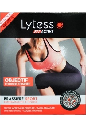 Lytess Fit Active Brassiere Sport Spor Sütyeni Siyah Medium Black/Noir