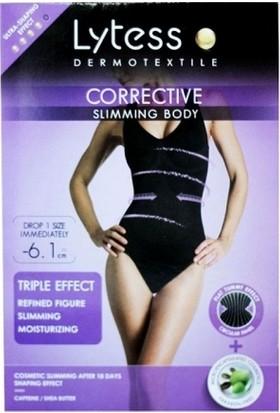 Lytess Corrective Slimming Body - İnceltici ve Sıkılaştırıcı Korse Ten Tengi L - XL Nude