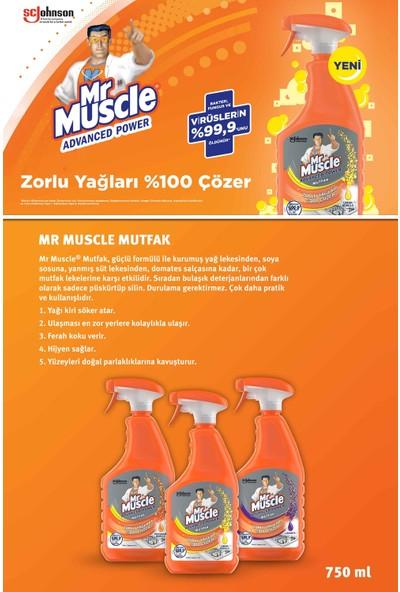 Mr Muscle Virüslere Karşı %99,9 Etkili Mutfak ve Banyo Temizlik Seti