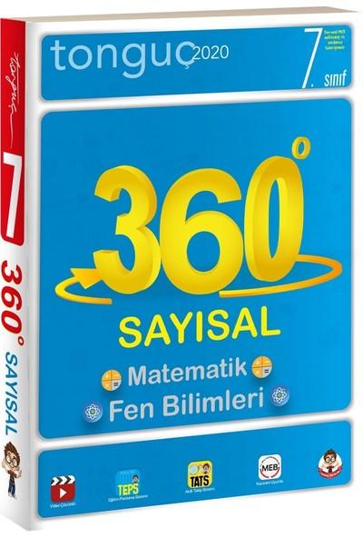 Tonguç Akademi 7. Sınıf 360 Tüm Dersler Sayısal Soru Bankası (Cep Boy)