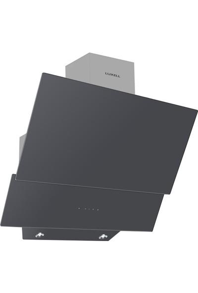 Luxell Antrasit Gri Dijital Dokunmatik Cam Ankastre Set (B66S2 - DDT Antrasit Gri 8 Program Dijital Fırın + 40TAHDF Antrasit Gri Cam Ankastre Ocak + DA-835 Antrasit Gri Cam Davlumbaz)