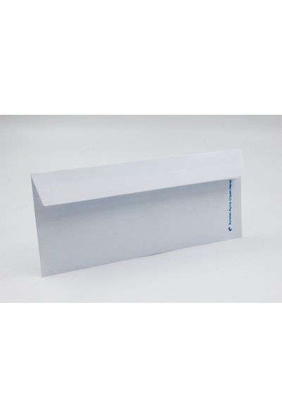 Diplomat Zarf Düz 110 gr 10,5 x 24 cm 100'lü