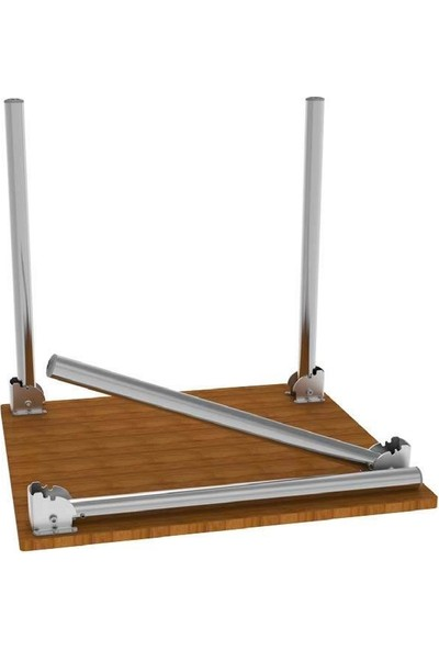 Gürçay Katlanır Masa Ayağı 11.503 (4'lü) Siyah
