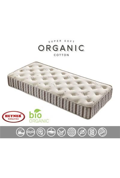 Heyner Biobed ORGANIC90X200 cm Full Yaylı Yatak Lüx Seri Yaylı Yatak