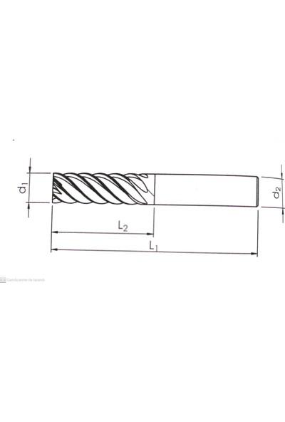 BiMetal 12 Unicut 26X83 Z7 Turcar Sm Finiş Freze