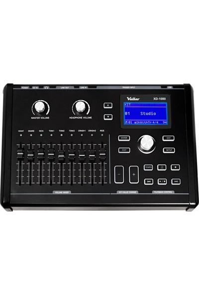 Valler XD480 Elektro Akustik Davul+ Kick Pedal